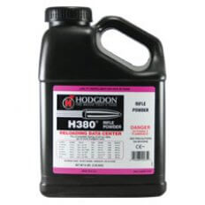 Hodgdon H380 Smokeless Powder- 8 Lbs. (HAZMAT Fee Required)