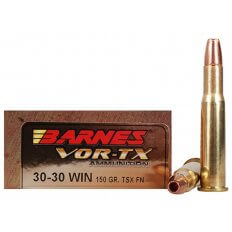 Barnes VOR-TX .30-30 Winchester 150 Gr. TSX Bullet Flat Nose- Lead-Free- Box of 20