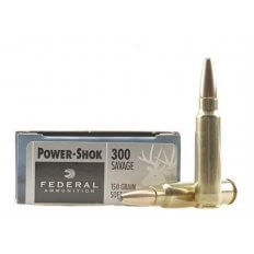 Federal Power-Shok .300 Savage 150 Gr. Soft Point- Box of 20