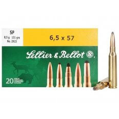 Sellier & Bellot 6.5x57mm Mauser 131 Gr. Soft Point- Box of 20