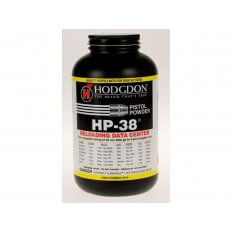 Hodgdon HP38 Smokeless Powder- 1 Lb. (HAZMAT Fee Required)