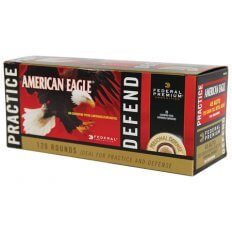 Federal American Eagle .45 ACP 230 Gr. Combo Pack FMJ/ JHP- Box of 100 FMJ/ 20 JHP