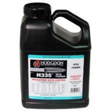 Hodgdon H335 Smokeless Powder- 8 Lbs. (HAZMAT Fee Required)