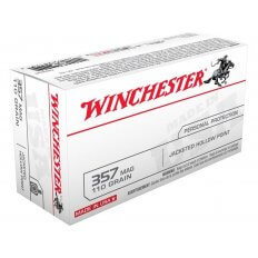 Winchester USA .357 Magnum 110 Gr. JHP- Box of 50