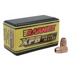 Barnes Bullets .44 Caliber (.429 Diameter) 200 Gr. XPB Solid Copper Hollow Point- Lead-Free 30541