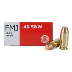 Sellier & Bellot .40 S&W 180 Gr. Full Metal Jacket SB40B