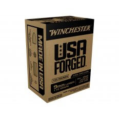 Winchester USA Forged 9mm Luger 115 Gr. Full Metal Jacket Steel Case WIN9S