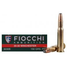 Fiocchi Shooting Dynamics .30-30 Winchester 150 Gr. Pointed Soft Point- Box of 20