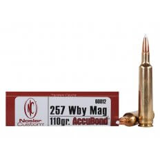 Nosler Trophy Grade .257 Weatherby Magnum 110 Gr. AccuBond Spitzer- Box of 20