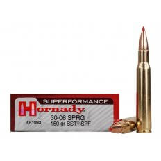 Hornady SUPERFORMANCE .30-06 Springfield 150 Gr. SST- Box of 20