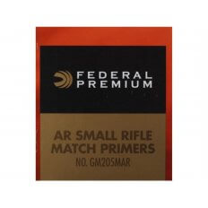 Federal Premium Gold Medal AR Match Grade Small Rifle Primers- Box of 1000 (HAZMAT Fee Required)