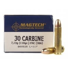 Magtech .30 Carbine 110 Gr. FMJ- Box of 50