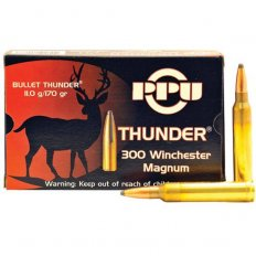 Prvi Partizan Thunder .300 Winchester Magnum 170 Gr. Soft Point- Box of 20