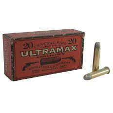 Ultramax Cowboy Action .45-70 Government 405 Gr. Lead Flat Nose- Box of 20