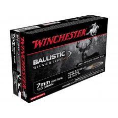 Winchester Supreme 7mm Remington Magnum 150 Gr. Ballistic Silvertip- Box of 20