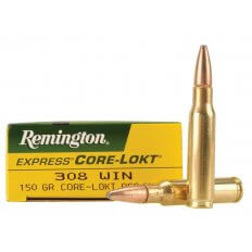 Remington Express .308 Winchester 150 Gr. Core-Lokt Pointed Soft Point- Box of 20