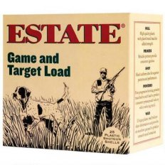 "Estate Game and Target Load 12 Gauge 2-3/4"" 1 oz #6 Shot"