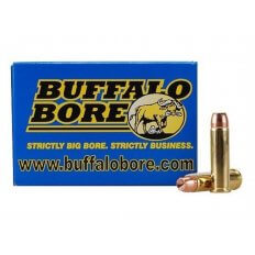 Buffalo Bore .357 Magnum 158 Gr. Jacketed Hollow Point Low Recoil- Box of 20