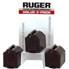 Ruger 10/22 .22 Long Rifle 10-Round Magazine Polymer- Value 3-Pack