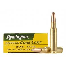 Remington Express .308 Winchester 180 Gr. Core-Lokt Pointed Soft Point- Box of 20