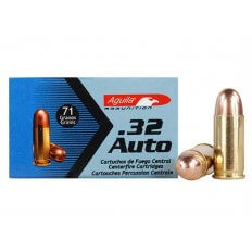 Aguila .32 ACP 71 Gr. Full Metal Jacket- Box of 50