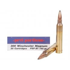 Prvi Partizan .300 Winchester Magnum 165 Gr. Pointed Soft Point Boat Tail- Box of 20